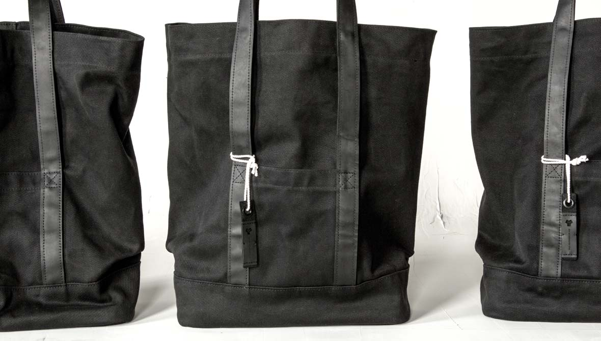 Day bag made of car airbag